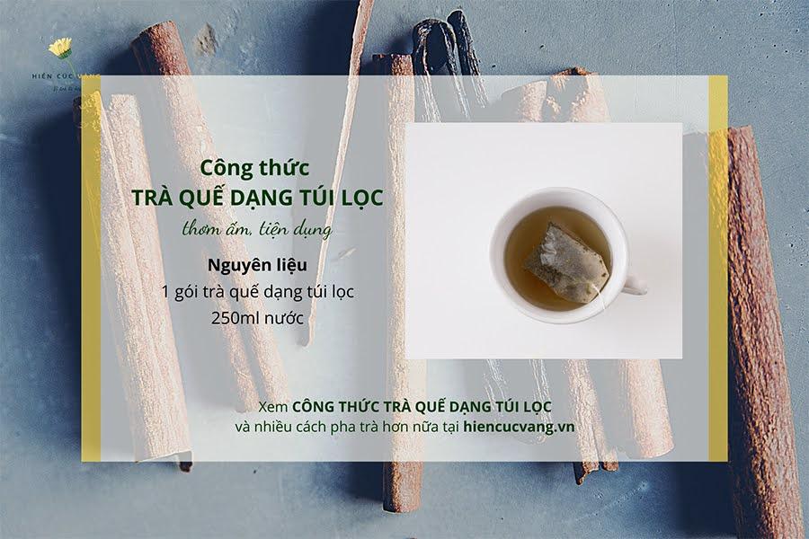 cách pha chế trà quế ngon   Món Miền Trung